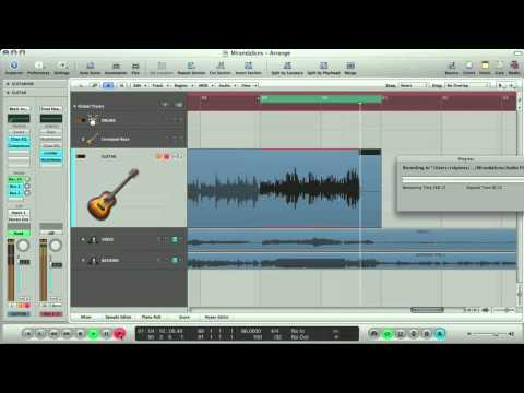Apple Logic Tutorial – Recording Vocals and Guitar in Logic