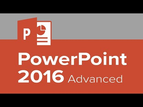 PowerPoint 2016 Advanced - YouTube
