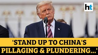US polls | Made in China: Donald Trump jibe at rival Joe Biden - Download this Video in MP3, M4A, WEBM, MP4, 3GP