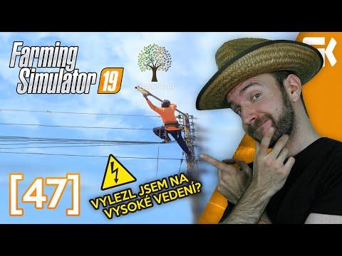 VYLEZL JSEM NA VYSOKÉ VEDENÍ? | Farming Simulator 19 #47