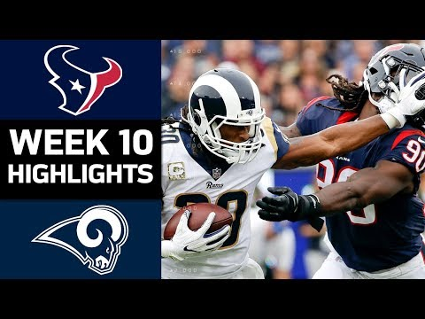 Texans vs. Rams | NFL Week 10 Game Highlights