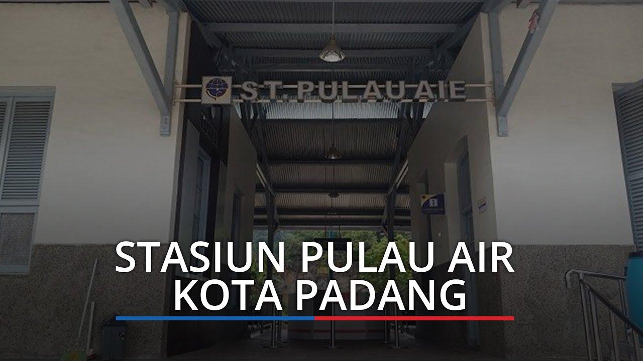 KA Minangkabau Express Beroperasi di Stasiun Pulau Air ...