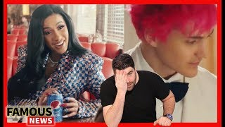 Super Bowl Commercials With Cardi B & Ninja, Tekashi Suspected of Snitching & More! | Famous News