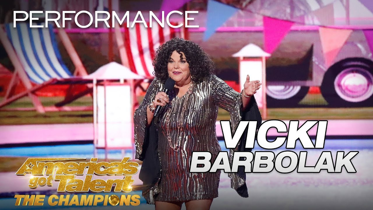 Vicki Barbolak: Hilarious Comedian Brings Trailer Nasty To AGT - America's Got Talent: The Champions thumbnail