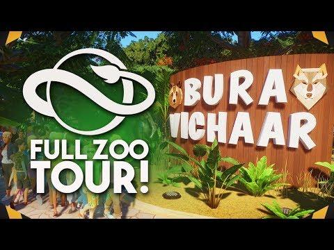 FULL ZOO TOUR   Planet Zoo Tour (Franchise Mode)