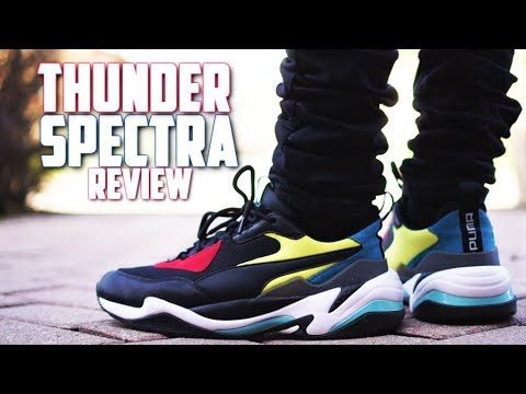 Puma Thunder Spectra Review and On-Feet! (BEST DAD SHOE of 2018?)