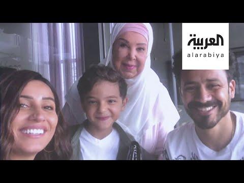 العرب اليوم - شاهد: أول تصريح للفنانة رجاء الجداوي من مستشفى العزل