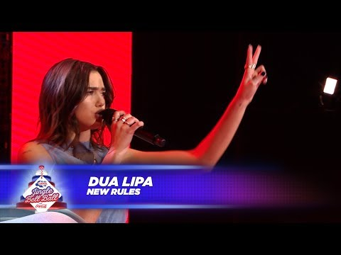 Dua Lipa - 'New Rules' - (Live At Capital's Jingle Bell Ball 2017) - Capital FM