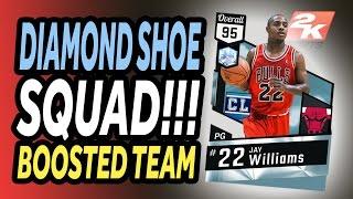 NBA 2K17 - MyTeam - ALL DIAMOND SHOE SQUAD!!!