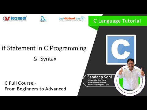 If Statement in C Language for C Beginners – C Programming Training