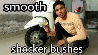Honda activa shocker bush change | honda activa