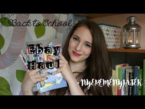 Back To School: Ebay Haul + NYEREMÉNYJÁTÉK!!! LEZÁRVA!!!! | My Comfort Zone for You letöltés