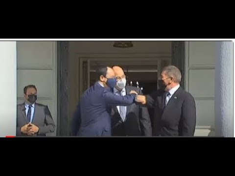 Τριμερής | Συνάντηση Υπ.Εξ. Ελλάδας – Κύπρου – Ισραήλ | 27/10/2020 | ΕΡΤ