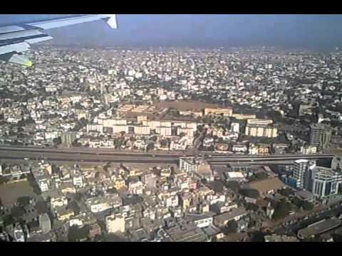 Landing in Dakar, Senegal