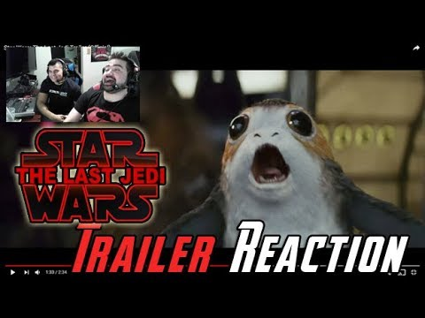 Star Wars: The Last Jedi Trailer Reaction