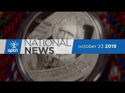 APTN National News October 23, 2019 - Stonechild Inquiry anniversary, Louis Riel coin