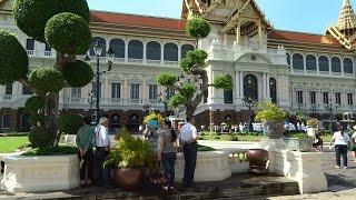 preview picture of video 'Thailand Bangkok Grand Palace(Таиланд Бангкок большой королевский дворец'