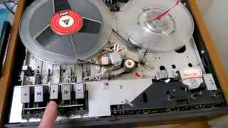 Philips 4307 reel to reel tape recorder / kelanauhuri