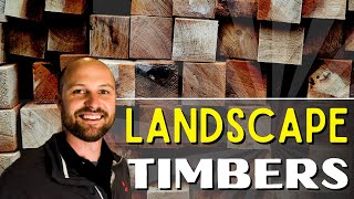 Landscape Timbers (Scooter's Lawn Care 2016)