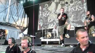 36 Crazyfists LIVE [Installing The Catheter ] - Soundwave Festival 2009