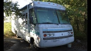 #125 Abandoned Vehicles from my childhood! Truck, Cadillac and Motorhome!