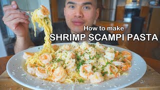 How to make SHRIMP SCAMPI PASTA - dooclip.me