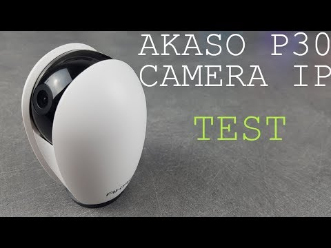 AKASO HD 1080P Wireless Security Camera works with Google