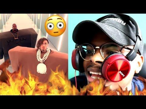 Kanye SNAPPED! | Kanye West & Lil Pump ft. Adele Givens - I Love It | Reaction