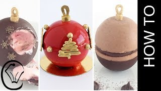 3 EASY Edible Christmas Baubles Ornaments Holiday Treats COMPILATION
