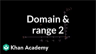 Domain and Range 2