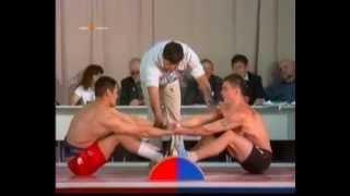 Мас-рестлинг Чемпионат России часть 1 Mas-Wrestling Russian Championship Part 1