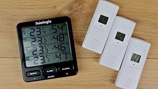 Funk Thermometer & Hygrometer // Sainlogic Wetterstation // Test & Fazit