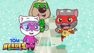 Talking Tom Heroes - The Big Bubble Fight in the Laundry (Episode 31)