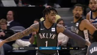 Brooklyn Nets vs Minnesota Timberwolves   November 12, 2018