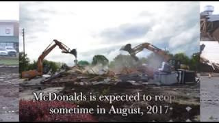 Ark City McDonalds torn down time lapse