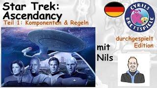 Cyrils Brettspiele - Star Trek: Ascendancy (S117E01) - Komponenten & Regeln