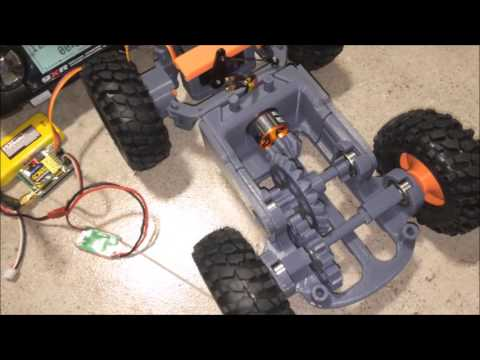 3D Printed RC Car