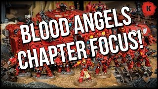 Warhammer 40,000 Blood Angels Chapter Focus! Blood Angels Primaris Are GO!
