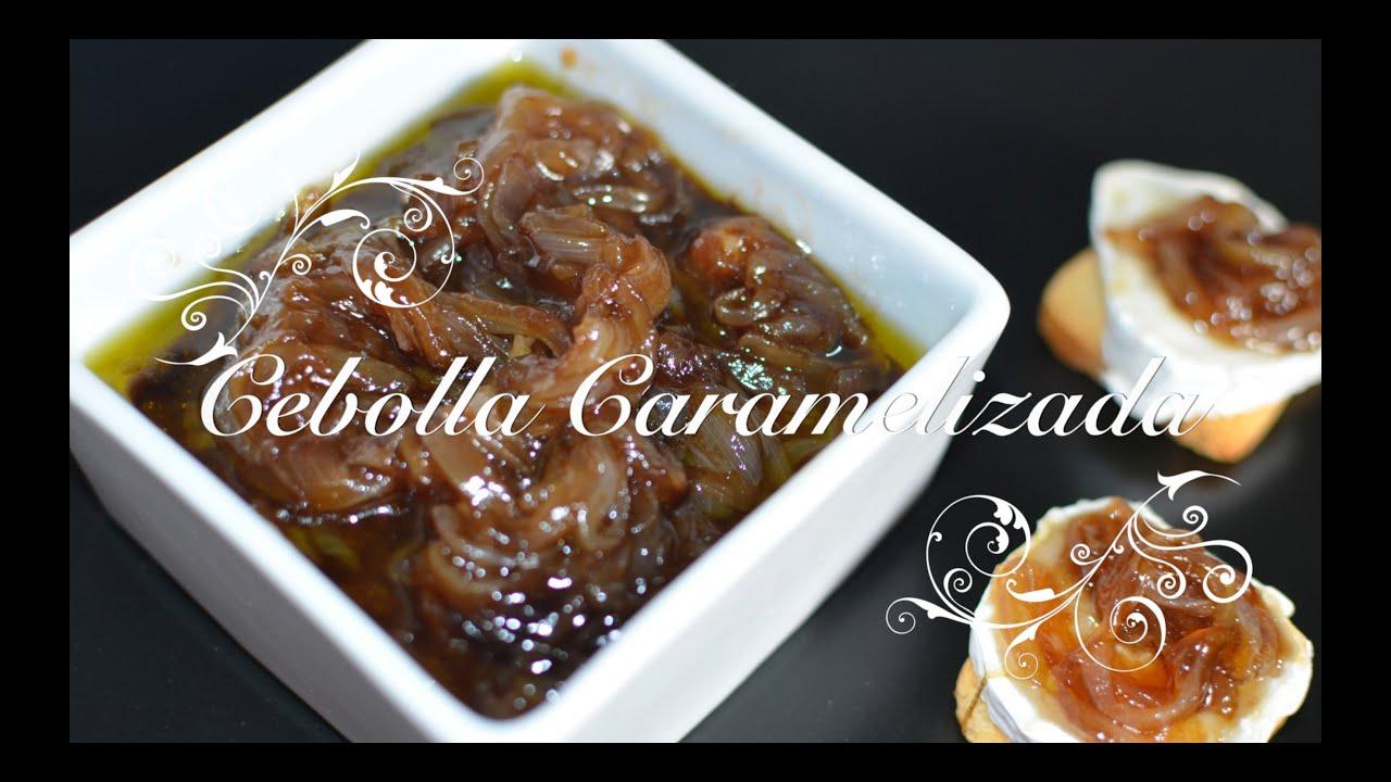 Cebolla Caramelizada | Cebolla confitada | Recetas de Cocina por chef de mi casa.com