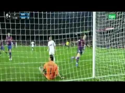 FC Barcelona 1-0 Real Madrid - Zlatan Ibrahimovic Goal! - 2010