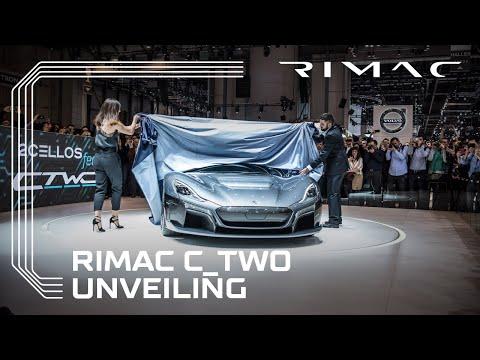 Мате Римац го претстави новиот суперавтомобил
