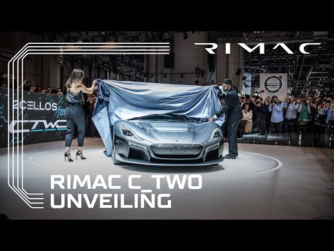 Rimac C_Two: The Unveiling Moment At Geneva Motor Show