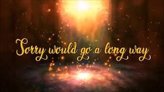 Tori Kelly   Sorry Would Go A Long Way (lyric Video)