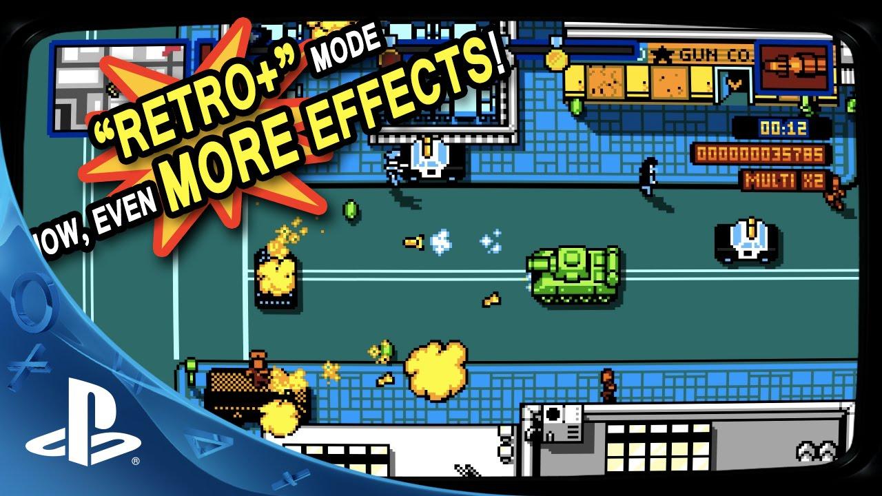 Retro City Rampage: DX storms PS4, PS3 & PS Vita next week