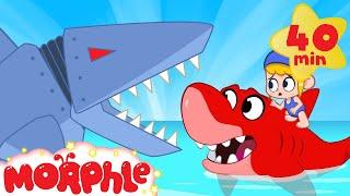 Mila vs Robot Sharks - My Magic Pet Morphle | Cartoons For Kids | Morphle TV | BRAND NEW
