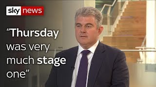 Conservative Party Chairman Brandon Lewis