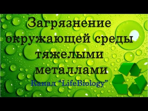 Загрязнение окружающей среды тяжелыми металлами