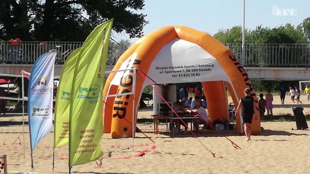 Rozpoczęcie sezonu plażowego w Sieradzu
