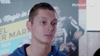 Michael van der Mark voorafgaand aan de Acerbis Dutch Round