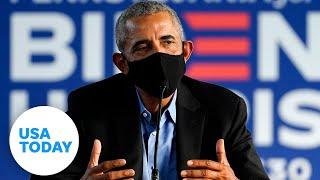 President Obama campaigns for Biden in Philadelphia | USA TODAY